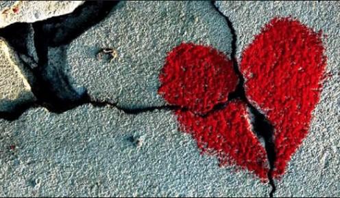 Heart sidewalk
